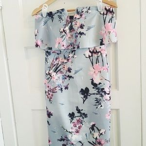 0fad0d9b3b Nasty Gal Dresses - Nasty Gal Spring Affair Floral Midi Dress
